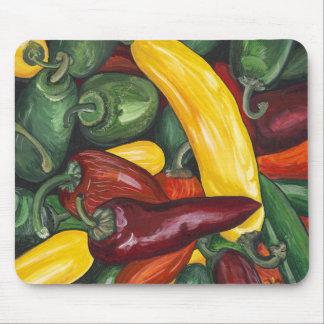 Hot Peppers Mousepad
