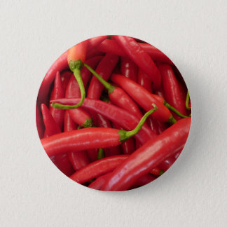 Hot Peppers Pinback Button