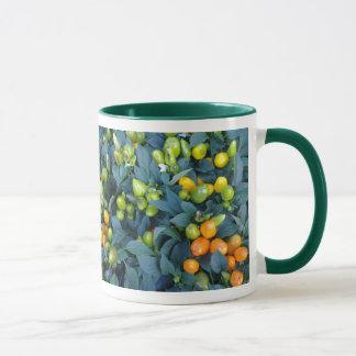 Hot Peppers Plant Mug