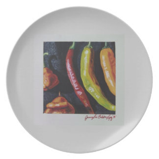 Hot Peppers Print Plate