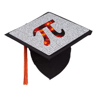 Hot Pi Graduation Cap Topper