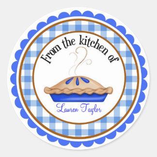 Hot Pie Baking Cooking Kitchen Stickers