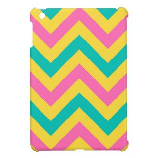 Hot PInk #2, Teal Pineapple Chevron ZigZag Pattern iPad Mini Covers