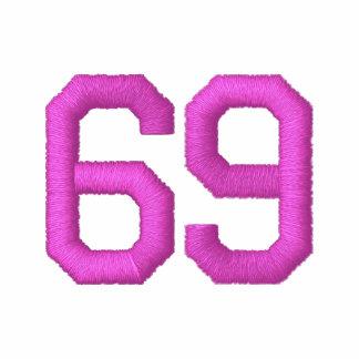 Hot Pink 69 Team Captain Ladies Embroidered Hoodie