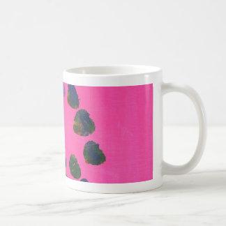 Hot Pink Abstract Painting Coffee Mug