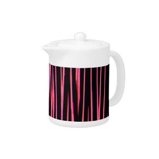 HOT PINK (an abstract art design) ~ Teapot