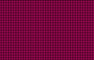 Hot Pink And Black Houndstooth Fabric