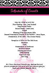 Birthday Party Programs | Zazzle