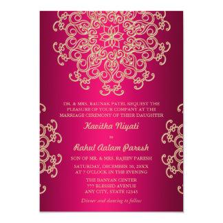 Indian Wedding Invitations Announcements Zazzle