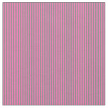 [ Thumbnail: Hot Pink and Grey Lined Pattern Fabric ]