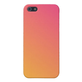 Hot Pink and Orange Gradient Covers For iPhone 5