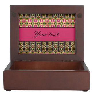 Hot Pink and Red Jewels Memory Box