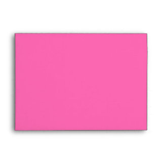 Hot Pink and White Chevron Pattern Envelopes