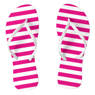 Hot Pink and White Stripes   DIY Color