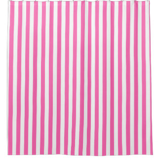 Hot Pink Shower Curtains Zazzle