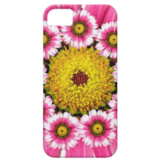 Hot Pink and Yellow Daisy Flowers iPhone 5 Case