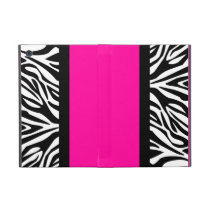 Hot Pink and Zebra Animal Print Case For iPad Mini