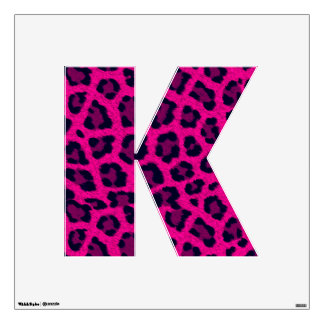 K Letter Images In Pink Pin Leopard Print Letters on Pinterest