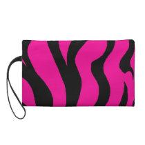 hot pink animal print bag