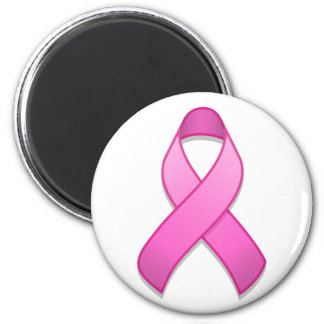 Hot Pink Awareness Ribbon Magnet