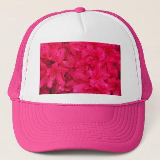 Hot Pink Azalea Flowers Trucker Hat