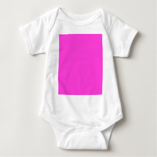 Hot Pink Baby Bodysuit