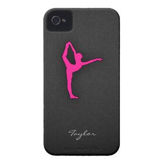 Hot Pink Ballet Dancer iPhone 4 Case