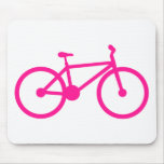 Hot Pink Bicycle; bike Mouse Pad