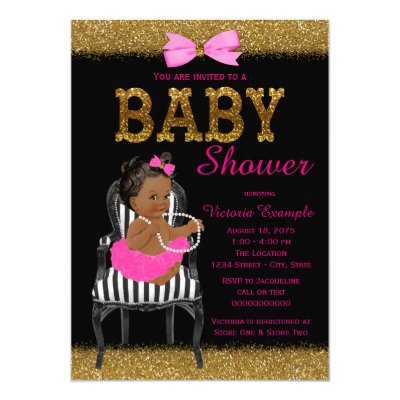 Chic hot pink green paisley baby shower invitation zazzle filmwisefo