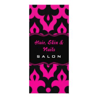 Hot Pink & Black Frieze Rack Card