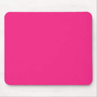 Hot Pink Bright Pink Mouse Pad