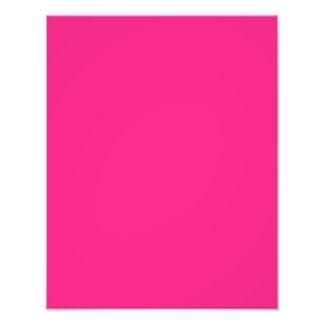 Hot Pink Bright Pink Photo Art