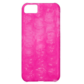 Hot Pink Bubble Wrap Effect Case For iPhone 5C
