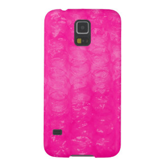 Hot Pink Bubble Wrap Effect Galaxy S5 Case