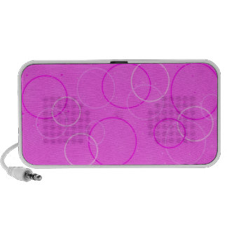 Hot Pink Bubblz Notebook Speakers