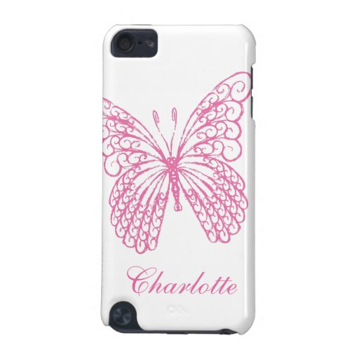 Hot Pink Butterfly iPod Touch Speck Case iPod Touch (5th Generation) Cover