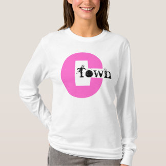 Hot Pink C C-Town Cleveland Nickname Ohio Shirts