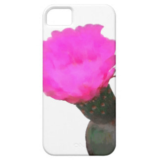 HOT PINK CACTUS FLOWER iPhone 5 COVERS