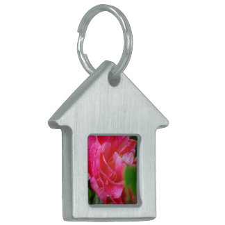 Hot Pink Camelia Flower Pet Tag
