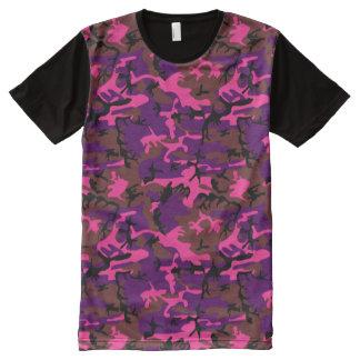 Hot Pink Camo All-Over Print Shirt