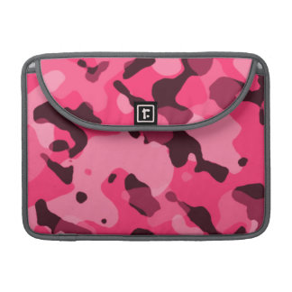 Hot Pink Camo; Camouflage Sleeve For MacBooks