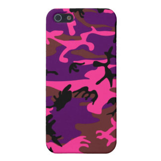 Hot Pink Camo Case For iPhone SE/5/5s
