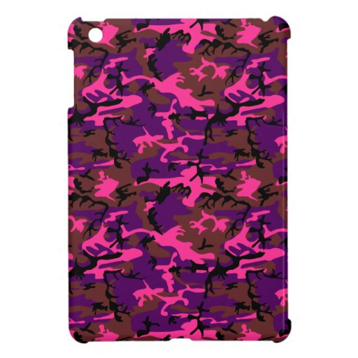 Hot Pink Camo Case For The iPad Mini