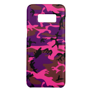 Hot Pink Camo Case-Mate Samsung Galaxy S8 Case