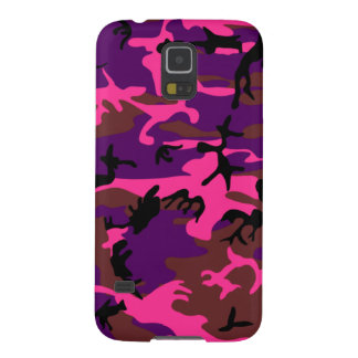 Hot Pink Camo Galaxy S5 Cover