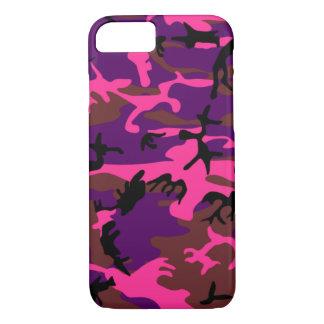Hot Pink Camo iPhone 8/7 Case