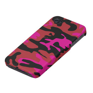 Hot pink camo iPhone 4/4S cover