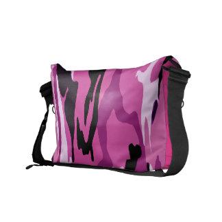 Hot Pink Camo Messenger Bag