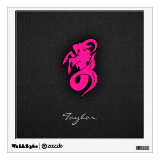 Hot Pink Capricorn Wall Decal
