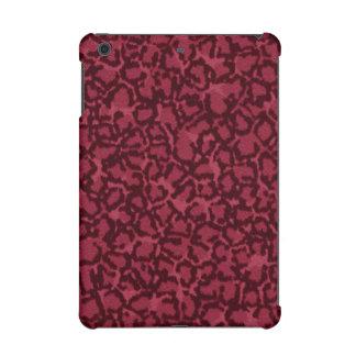 Hot Pink Cat Pattern iPad Mini Retina Cover